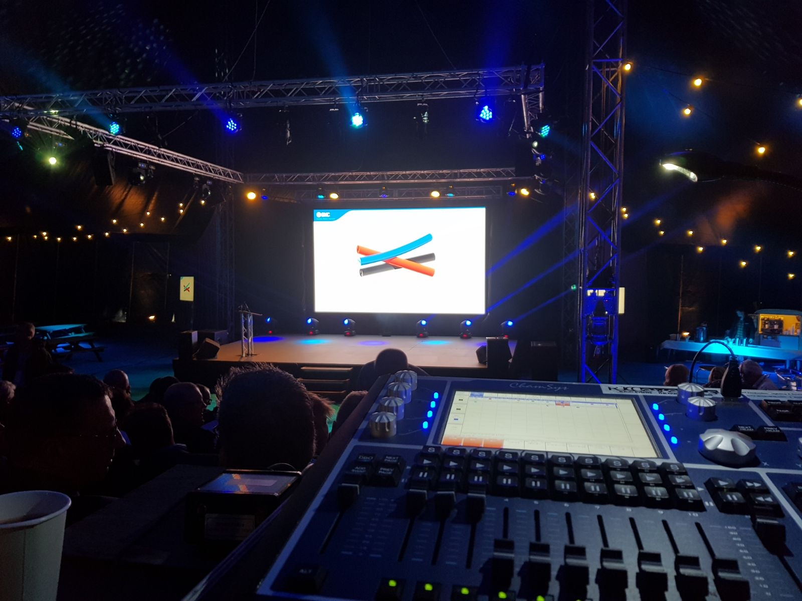 RJCC Events Supply LED Panel Screens in Oxford