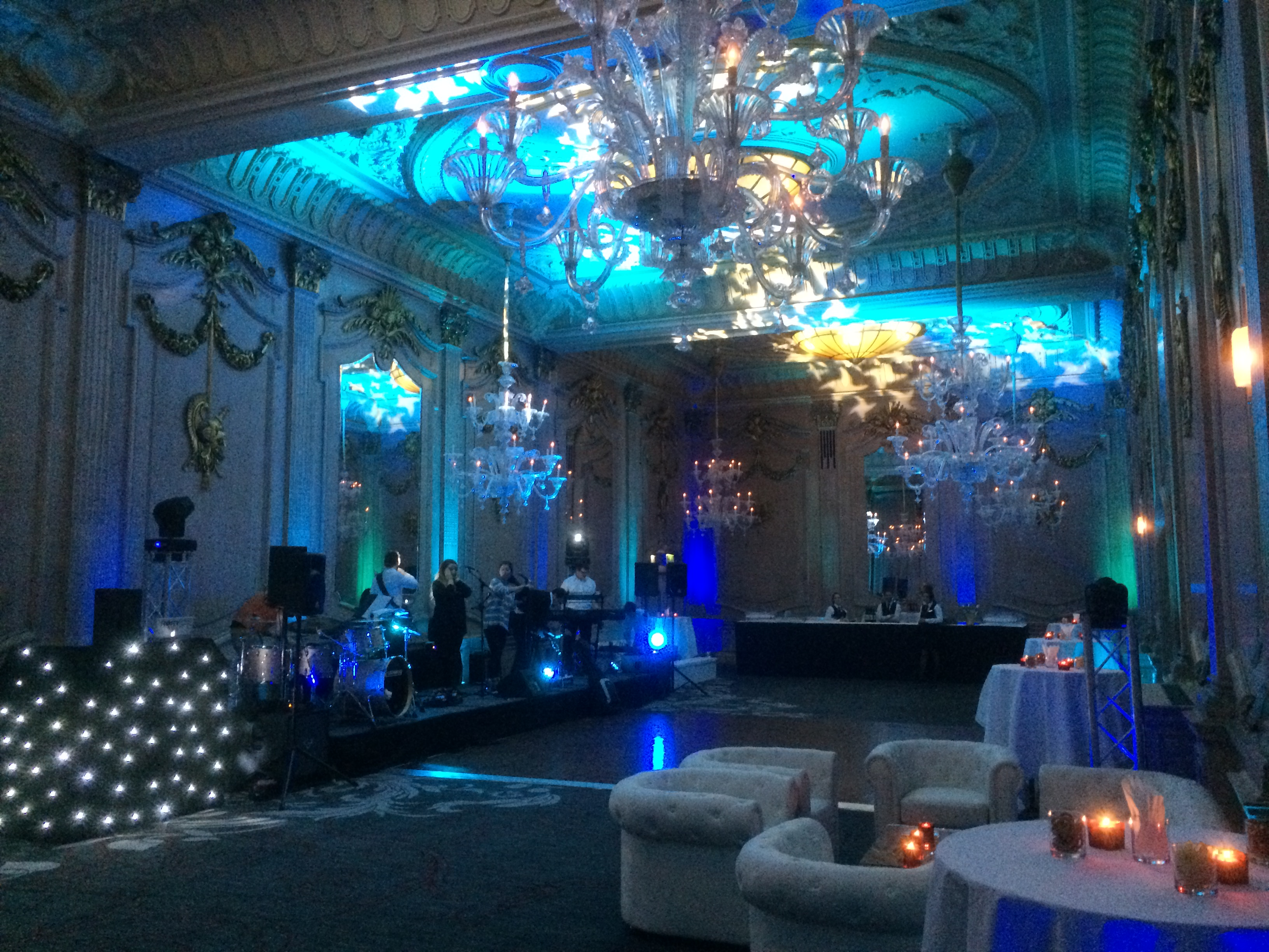Frozen Theme Party Lighting