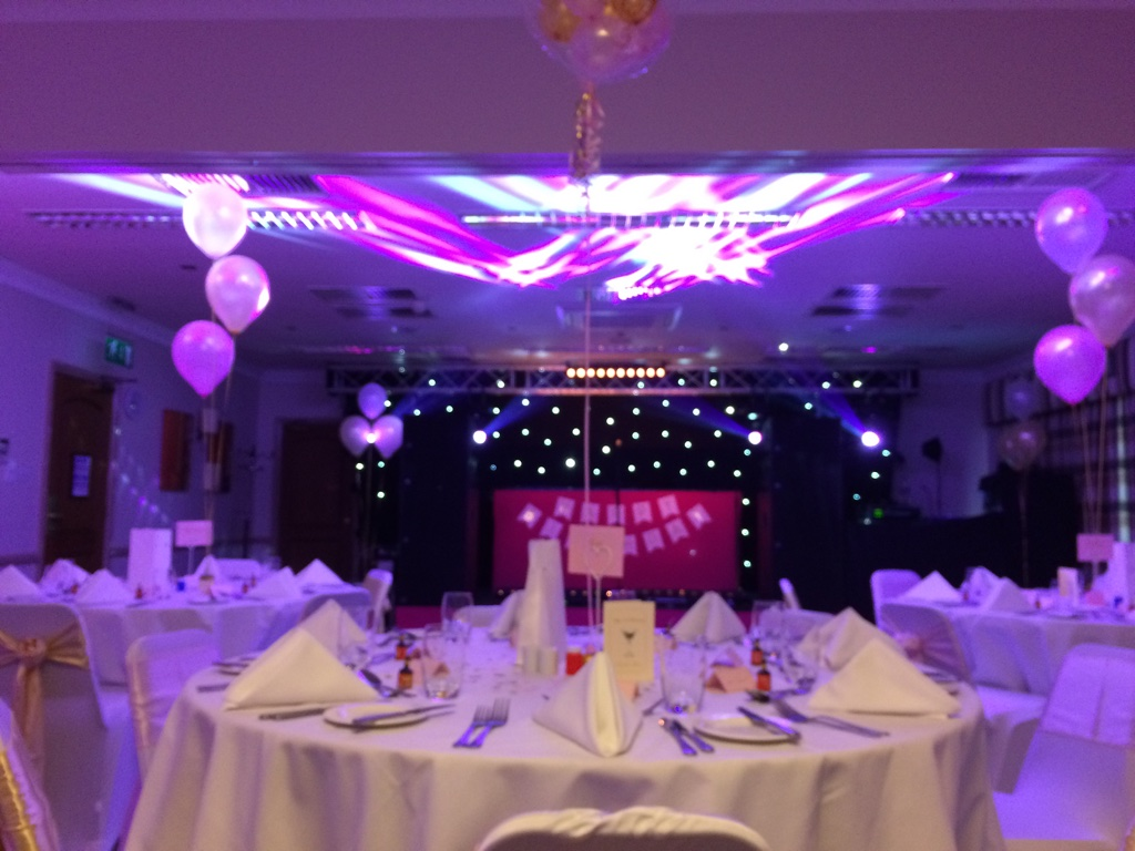 Oxford Spires Four Pillars Hotel Sweet Sixteen Party RJCC Events