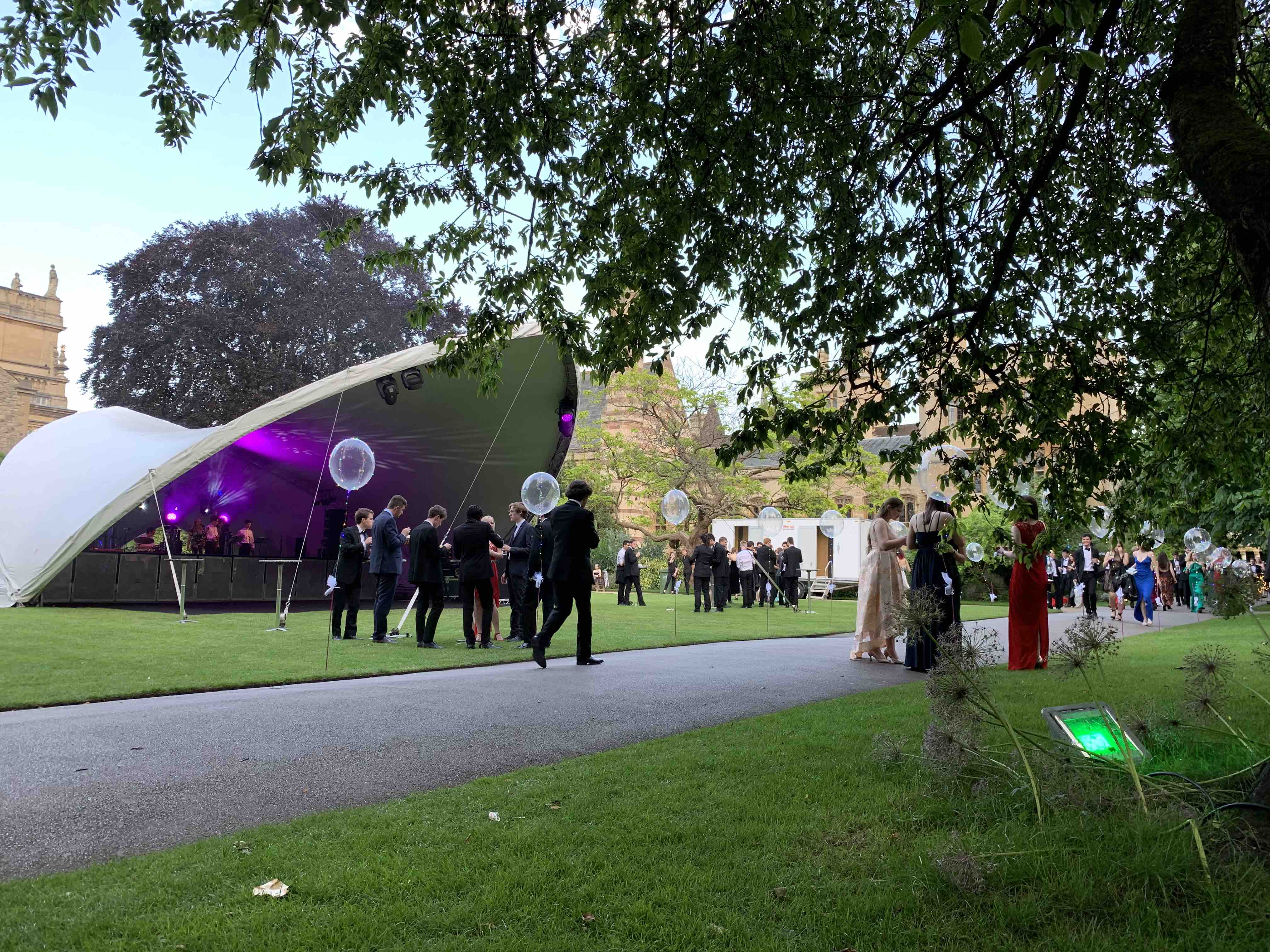 Saddlespan Marquee Hire Oxford